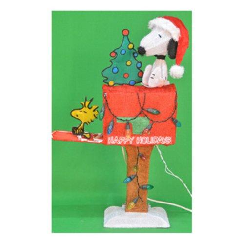 ProductWorks 70327 Snoopy auf Briefkasten, 81 cm