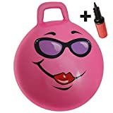 "WALIKI Hopper Ball for Kids 3-6 | Hippity Hop | Jumping Hopping Ball | Relay Races | Pink 18"""