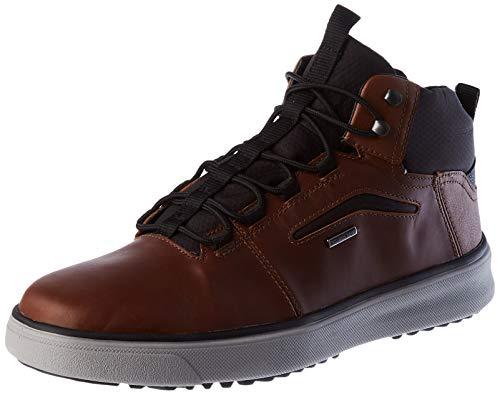 GEOX U CERVINO B ABX A DK.BROWN/BLACK Men's Boots Chukka size 44(EU)