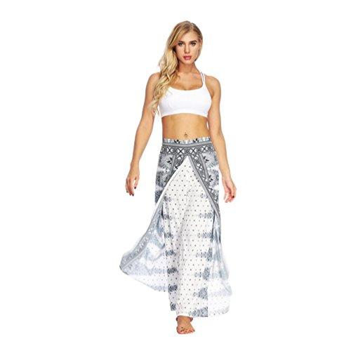 TUDUZ Cyber Monday Wochenende Beförderung Yoga Hosen Baggy Hippie Boho Hose Haremshose Hosenrock Aladinhose Pumphose Pluderhosen für Damen