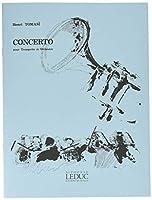 トマジ : 協奏曲 トランペット・コンチェルト (トランペット、ピアノ) ルデュック出版