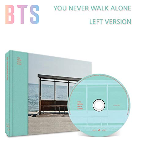 BANGTAN BOYS Wings: You Never Walk Alone (Left Version) BTS Album CD+Photobook+Photocard+Gift