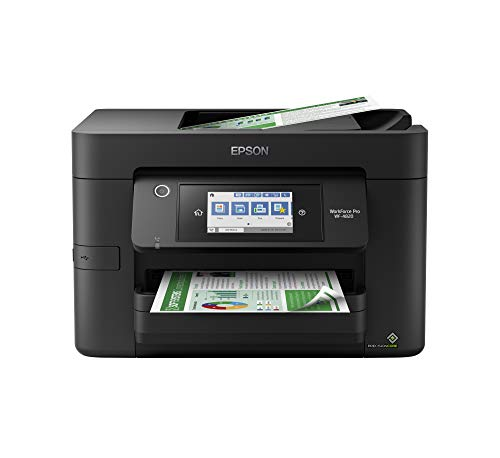 Epson Workforce Pro WF-4820 Wireless All-in-One Printer with Auto 2-Sided Printing, 35-Page ADF, 250-sheet Paper Tray and 4.3