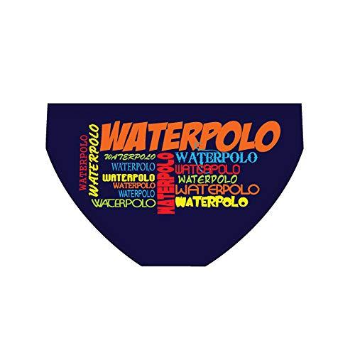 Diapolo Waterpolo Professioneller Schwimmhose Badehose Wasserballhose Herren Männer S M L XL XXL (S)
