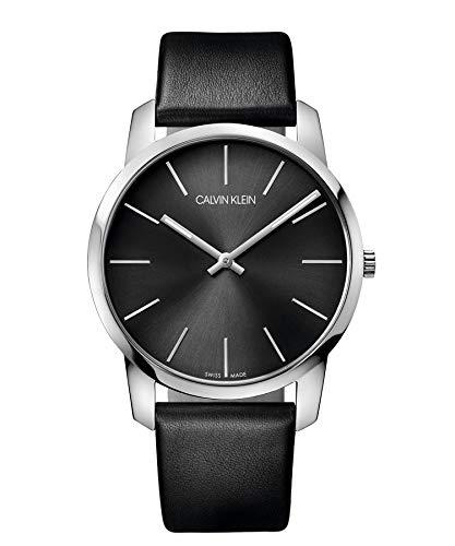 Calvin Klein Reloj Analógico de Cuarzo para Hombre con Correa de Piel - LTP-1234L-7AEF