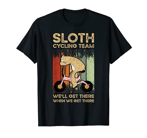 Sloth Ciclismo Equipo Ciclismo Camiseta