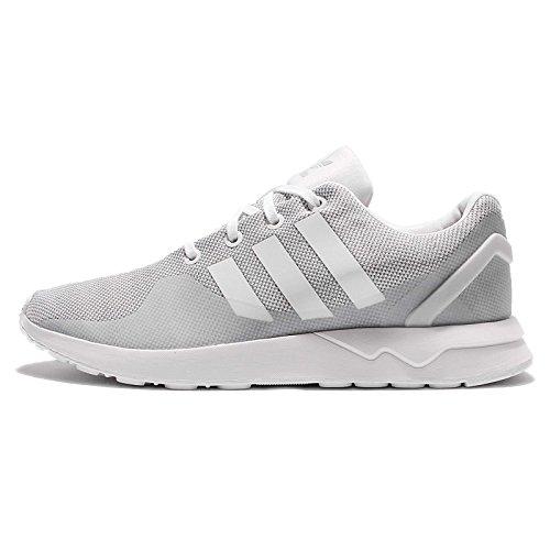 adidas Herren ZX Flux ADV TECH S76395 Trainers Sneaker, grau, weiß, 44 EU