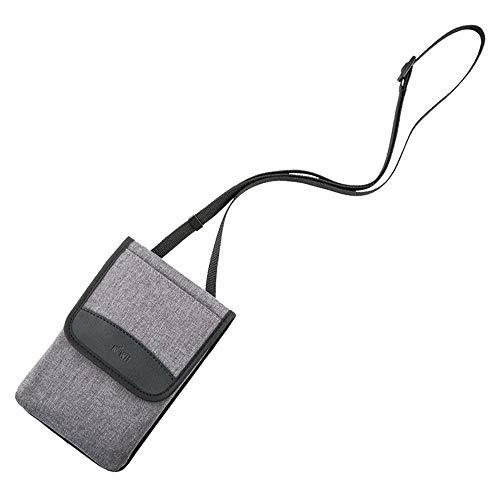 KIWI FOTOS Funda de viaje para teléfono con correa de hombro para teléfono inteligente, tarjeta, gafas