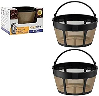 GoldTone Brand Reusable 8-12 Cup Basket Coffee Filter fits Hamilton Beach Coffee Makers and Brewers. Replaces your Hamilto...