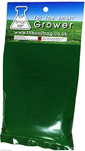 Organic CO2 Bags Hydroponic Growing Large Yields, 5-15 m2 Area