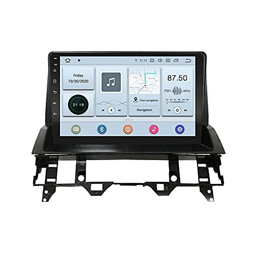 EZoneTronics Android 10.0 Car Radio Estéreo para MAZDA 6 Atenza 2004-2014 10.1 pulgadas Pantalla táctil Navegación GPS Bluetooth USB Wifi AM / FM / RDS Control del volante Reproductor 2G RAM + 32G ROM