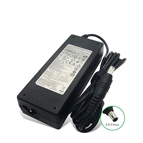 New Samsung 90W Replacement AC Adapter for Samsung Notebook Model:NP300E5C-A05US,NP300E5C-A06US,NP300E5C-A07US,NP300E5C-A08US,NP300E5C-A09US,NP300E5C-A0AUS,NP300E5C-A0BUS,NP300E5C-A0CUS,NP300V3A