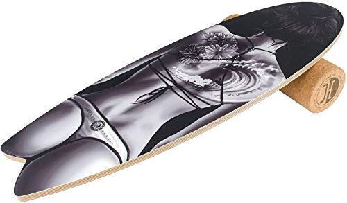 Jucker Hawaii Balance Board Homerider Wahine – Balance Board con rullo in sughero