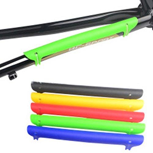 F-blue VTT Montagne Vélo Route chaîne Chain Shield Vélos Protection Shield en Plastique Protection (Couleur aléatoire)