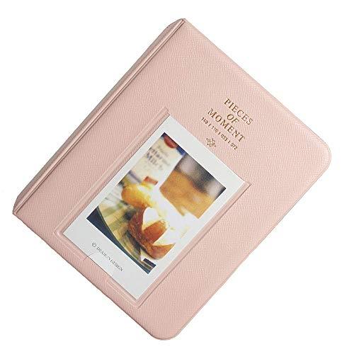 Ogquaton - Caja de almacenaje para 64 Fotos, diseño Creativo, Color Rosa
