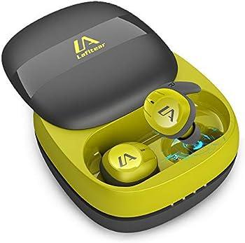 Lafitear Wireless Earbuds Bluetooth Waterproof Sports Earphones w/Mic