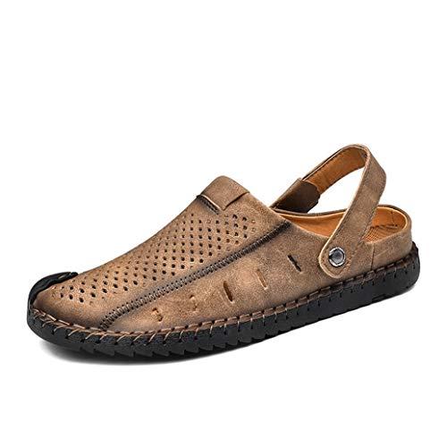 Gli Uomini Slip On Sandals Estate Slippers Slippers Breathable Buckle Strap Flats Outdoor Casual Slingback Gladiator Beach Scarpe