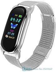 Smart Armband YD8 Temperatuur Meten Thermometer Met Heren En Dames Hartslag Slaap Fitness Tracker Clock Sport Smartwatch