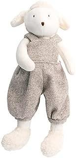 Moulin Roty La Grande Famille Plush Stuffed Animal - LITTLE Lamb Albert, 12