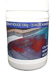 VISIO TECH Colorante de localización rojo 100 g en maceta polvo soluble en agua