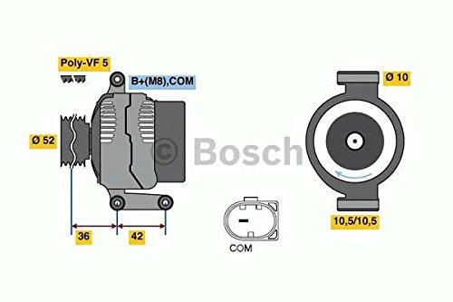 Preisvergleich Produktbild BOSCH 0 986 081 040 Generator