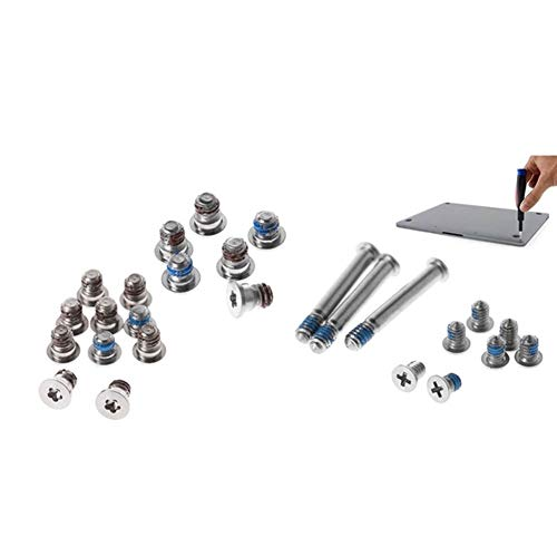 Ping.Feng for Apple Pro 13Inch 15Inch 17Inch Back Cover Screw for A1278 A1286 A1297 Laptop Computer Repair Parts Silver Co Screws (Color : 2 Types)