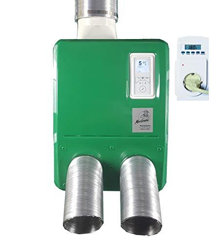 Gewächshausheizung Umluftheizung H 54-30 mit Temperaturregler