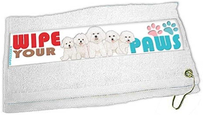 Bichon Frise Paw Wipe Towel
