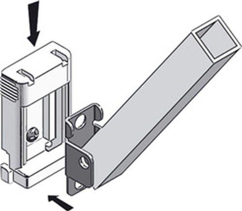 Thule 89790 Stützfußhalter für Fahrzeug-Wand 2 Stück