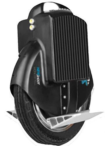 LNDDP Monociclo eléctrico, Smart Balance Car Adulto Scooter eléctrico Seguridad Carga 120KG Carga USB con Audio Bluetooth para Adultos Unisex