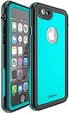 CellEver Waterproof Case for iPhone 6 / iPhone 6s, 4.7-Inch, Waterproof IP68 Certified Shockproof Sandproof Snowproof Dirtproof Full Body Sealed Protective Cover KZ-C (Ocean Blue)
