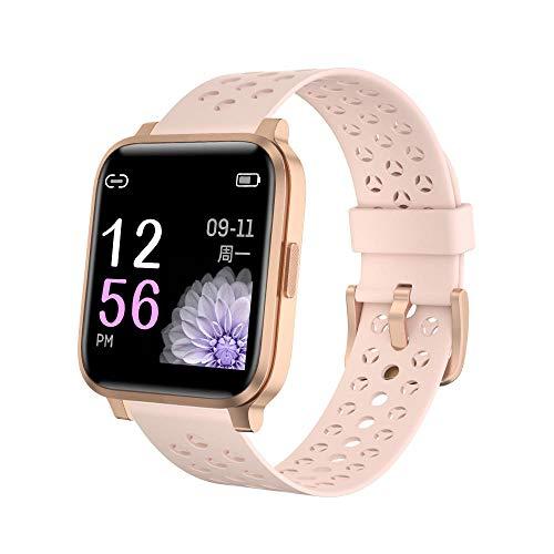 Reloj inteligente 1.3 Inglés Color IP68 Buceo Deportes Fitness Pulsera Inteligente Sueño Monitoring-rosa