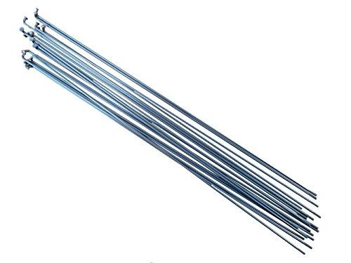 PILLAR P14 18, Länge: 250 mm - 298 mm, Edelstahl, silber Fahrrad Speichen, P14, silber, 282mm