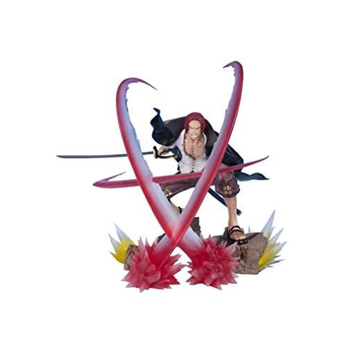 Bandai 60132 One Piece Shanks Sovereign Haki Figuarts Zero 18cm PVC Multicolour Figure