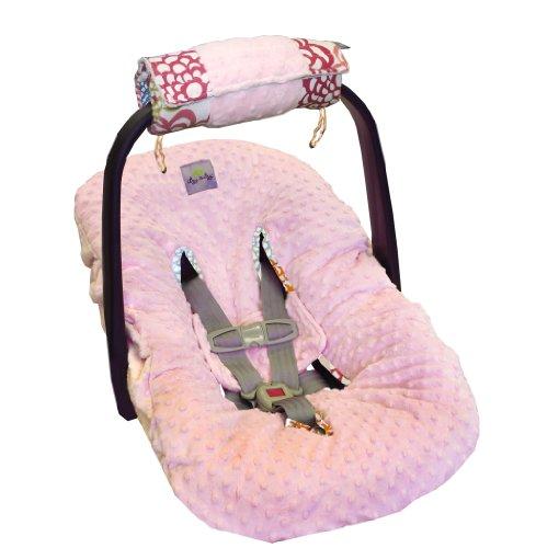 Itzy Ritzy Wrap et rouleau pour porte-bébé Bras de Pad et le ventre du temps Tapis Fresh Bloom