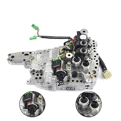 Solenoids Transmissions Kit TBVECHI Valve Body Solenoids Transmissions Kit Fit for Nissan Altima Rogue Sentra CVT JF011E//RE0F10A//F1CJA 203452A