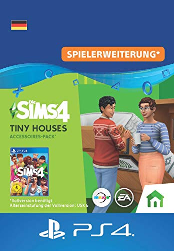 Die Sims 4 - Tiny Houses Accessoires-Pack | PS4 Download Code - deutsches Konto