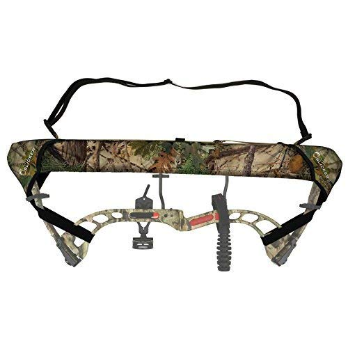Slicker Weatherproof Bow Sling for Archery, Soft and Compact Bow Case for Hunting Gear Accessories, Cam and String Protector - Alpine Mountain Camo