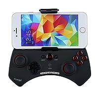 PowMaxゲームコントローラー Bluetoothワイヤレスゲームコントローラ iPhone Android スマホ/タブレット端末対応