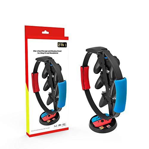 Fenmic Support de Stockage Multifonction de poignée Support de Rangement pour Nin tendo Switch Fitness Ring