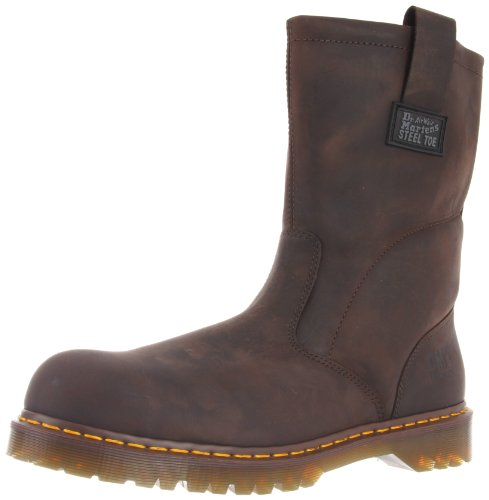 Dr. Martens, Men's Icon 2295 Steel Toe Heavy Industry Boots, Gaucho, 10 M US