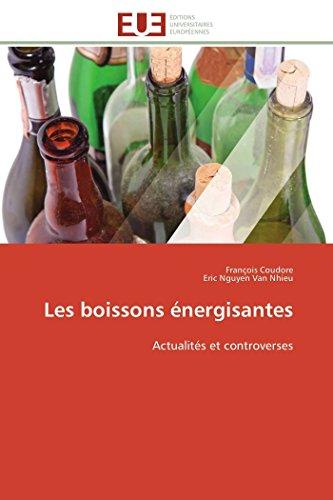 Les boissons énergisantes: Actualités et controverses