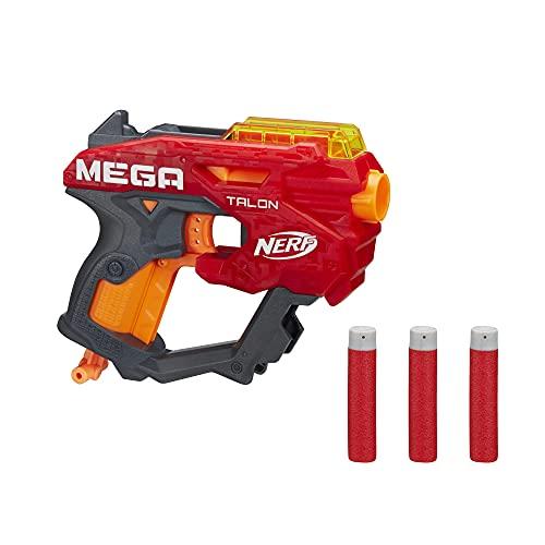 NERF Mega Talon Blaster -- Includes 3 Official Accustrike Mega Darts -- for Kids, Teens, Adults