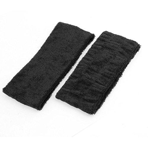 YeVhear - 2 diademas elásticas para el rostro y la ducha, color negro