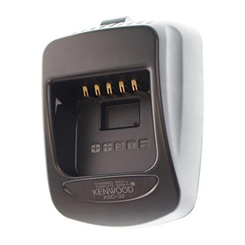 Kenwood Original KSC-32 (K) Tri-Chemistry Rapid Rate Charger - Compatible Radios: TH-D72A, TK-2180, TK-3180, TK-5210, TK-5310 - Compatible Batteries: KNB-31A/32N/33L/41NC/43L/45L/47L/48L/50NC/54N