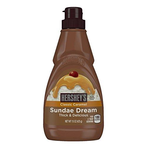 Hersheys Classic Caramel Sundae Dream Thick & Delicious Syrup 425g