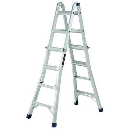 Louisville Ladder L-2098-22 Aluminum Multi-Purpose Ladder, 22'