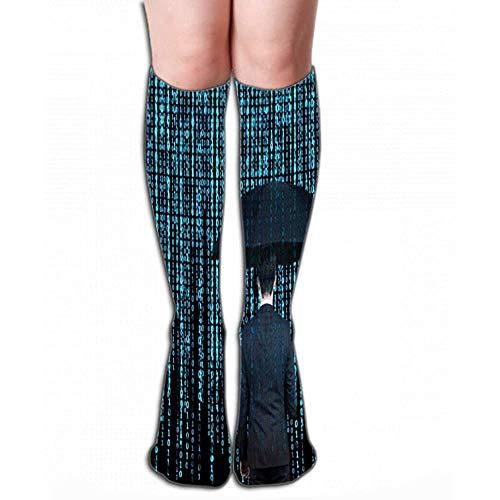 Knie High Fun Sokken voor Vrouwen mannen 19.7