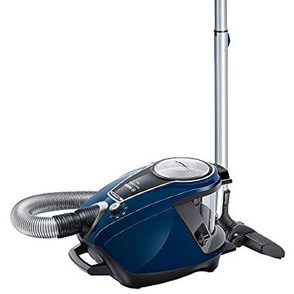Bosch BGS7RCL Relaxx Ultimate Aspirador sin Bolsa, Extremadamente silencioso 68 decibelios, 700 W, 3 litros, Azul, azul