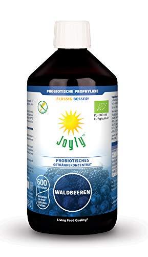 JOY DAY Waldfrucht Lebende Kulturen Bio Probiotika Flüssig Vegan 15 Lebende Bakterienstämme, Laktosefrei, Lebende lactobacillus (4)